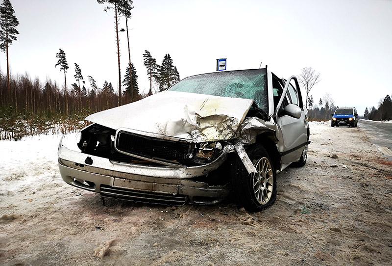 VIDEO: Liiklusõnnetus Kehtna vallas, Valtu-Nurmes