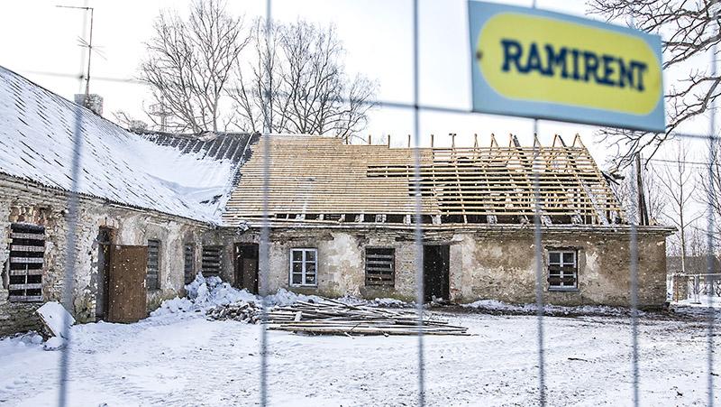 Kohilas algas talli-tõllakuuri ümberehitus koolimajaks