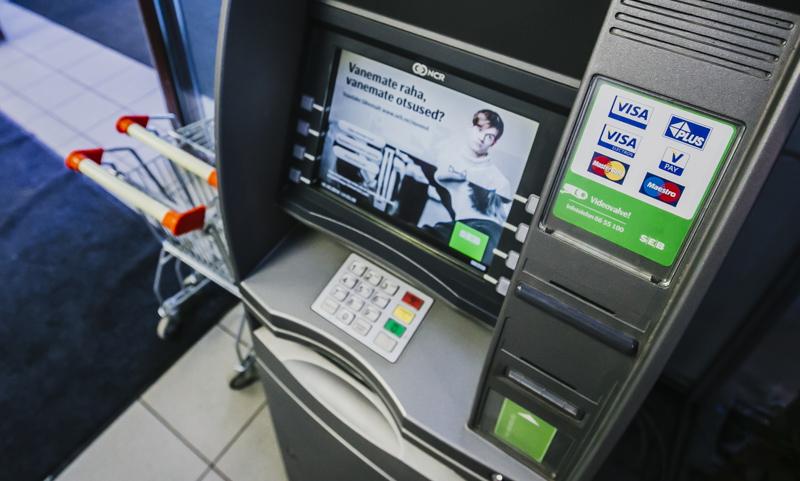 SEB sularahaautomaat vahetas asukohta