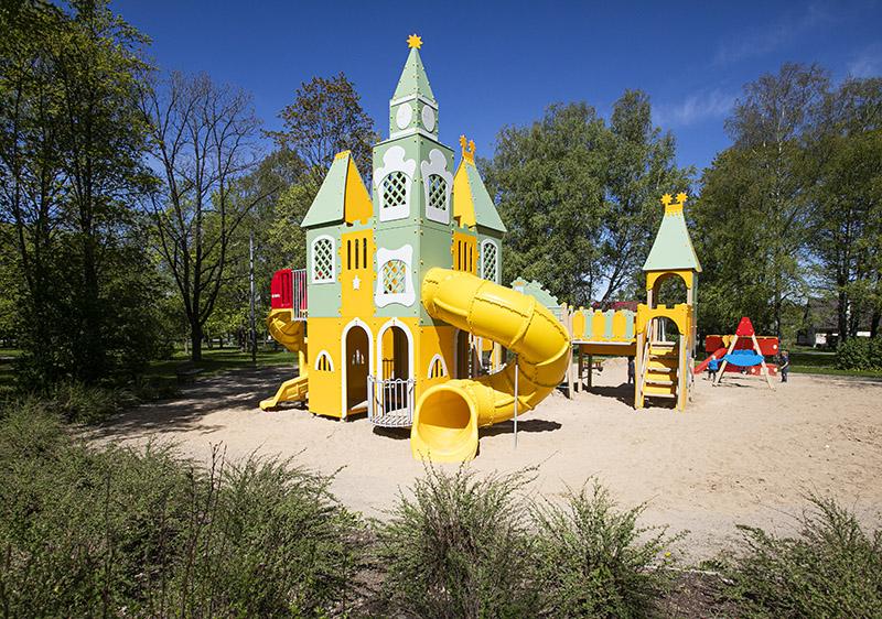 Uuenenud Rapla lastepark ootab mängima